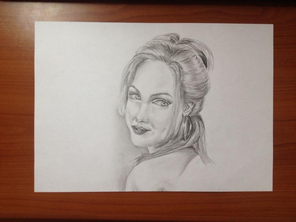 Angelina Jolie by Amir.Salides